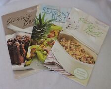 Lot of 3 Season's Best Recipe Collection Cook Books