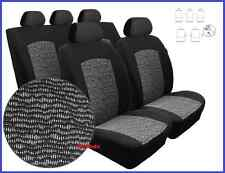 Tailored Full Set Seat Covers For Renault Scenic II 5 seater 2003 - 2009  (BW)