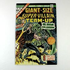 Giant Size Super Villain Team Up #1