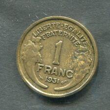 PIECE FRANCE 1 franc - MORLON Bronze-Aluminium - 1931