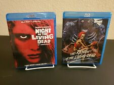 Night of the Living Dead + Return of the Living Dead (Blu-ray) horror movies.