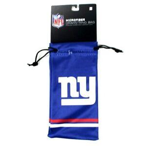New York Giants NFL Microfiber Glasses Bag