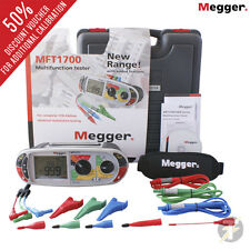 Megger MFT1711 17th Edition Multifunction Installation Tester w/ Clips and Leads