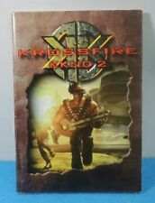 MANUAL ESPAÑOL PC CAJA GRANDE KROSSFIRE KKND 2 KRUSH KILL AND DESTROY II
