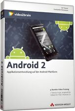 video2brain Android 2 Applikationsentwicklung DVD NEU