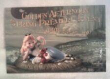 WDCC ALICE in Wonderland Spring Premiere Event Postcard - Mint!