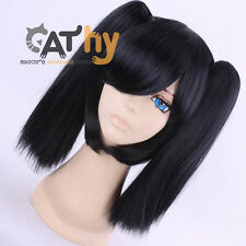 Kagerou Project Days ENOMOTO TAKANE ENE Cosplay Black Wig
