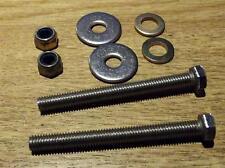 Miroir de porte en acier inoxydable réparation boulon ensemble les deux parties Mazda MX5 Mk1, MX-5 Eunos