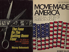 MOVIES * two book lot* Face on Cutting Room Floor (1964) film censorship history