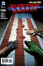 JUSTICE LEAGUE of AMERICA (2013) #5 (New 52) GEOFF JOHNS!!