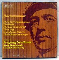 SLS 847 Rachmaninov Svetlanov 5 x vinyl LP Box Set Melodiya