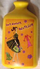 Bottle Vase 1950s Fashion Model Saw Wanted Bought It Ceramic