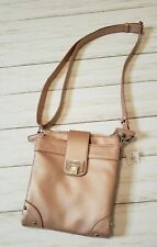 Rosetti Rose Metallic Pink Crossbody Shoulder Bag Purse Shopping Travel