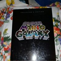RARE Super Mario Galaxy Collector's Edition Strategy Guide Book Nintendo