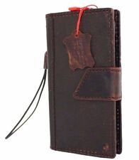 genuine vintage leather for samsung galaxy s5 active Case book wallet handmade 5