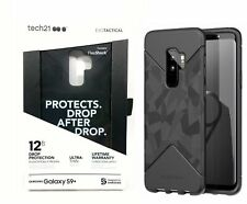 SAMSUNG GALAXY *S9 PLUS* BLACK CAMO PHONE CASE ULTRA THIN 12 FT DROP PROTECTION