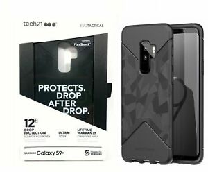 SAMSUNG GALAXY *S9 PLUS* BLACK CAMO PHONE CASE ULTRA THIN 12 FT DROP PROTECTION