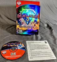 Bejeweled 3 PC MAC Windows CD-ROM Pop Cap - Retail Box Complete Tested PopCap