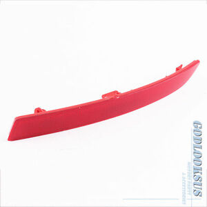 Rear Bumper Cover Reflector Light Red Right For BMW F10 5-Series 528i 535i 550i