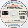 Phone Unlock/Unlocking Software CD/DVD X2 24 GB+