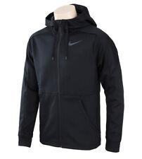 Nike Therma Sphere Men's Full-Zip Hoodie Jacket Running Black CU7359-010