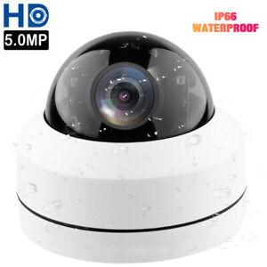 5MP Mini PoE IP PTZ Dome Camera 4X Optical zoom 2.8-12mm IP66 CCTV Cam Outdoor