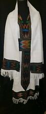 Ethiopian Ray Traditional Dress, colorful trimmings size small