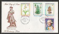 NORFOLK IS 1974 CAPTAIN COOK Discovery Norfolk Set 4v FDC (No 1)