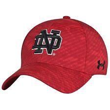Under Armour NCAA Notre Dame Irish Signal Caller Sideline Stretch Fit Hat L/XL