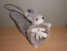 POTTERY BARN CHRISTMAS BOTTLE BRUSH WOODLAND WHIMSY SQUIRREL ORNAMENT NEW IN BOX