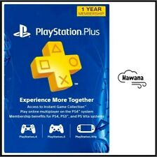 Sony PlayStation Plus PS 12 Month / 1 Year / 365 Day Membership Subscription USA