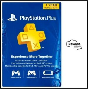 Sony PlayStation Plus PS 12 Month / 1 Year Membership Subscription