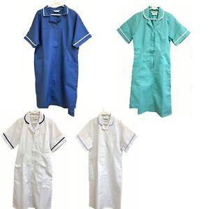 Nurse Woman Dress Uniform Healthcare Lab Vet Care Worker Housekeeper Salon Spar