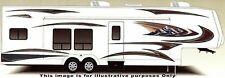 New ListingRv, Trailer Hauler, Camper, Motor-home Large Decals/Graphics Kit-K-0009
