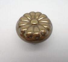 """Period Brass 1 1/4"""" Cabinet Knobs A116 Antique Brass 656D"""
