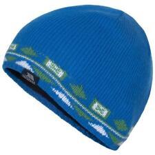 ca1a0b419b9 New Trespass Mens Matteo Blue Green Winter Ski Snow Beanie Hat One Size