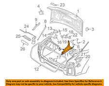 AUDI OEM 04-10 A8 Quattro Trunk Lid-Hinge Right 4E0827300H
