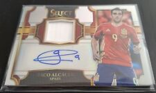 2017-18 Select Soccer PACO ALCACER Auto Jersey White Prizm 33/99 Spain Barcelona