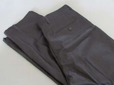 SALE NWT Alfani Flat Front Dress Pants Silver/Gray Herringbone Size 30 x 32