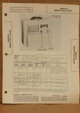 Mantola Portable Radio Model R662,R662N,B.F. Goodrich,Akron, OH.