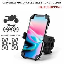 Silicone Motorcycle MTB Bike Bicycle Handlebar Mount Holder For Cell Phone GPS