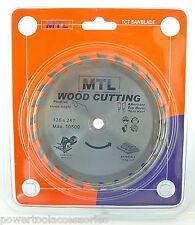 MTL 136mm TCT Circular Saw Blade, Thin Kerf for Cordless Dewalt DW936 & DW935