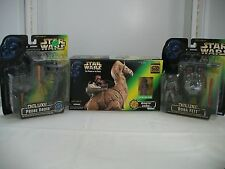 Star Wars POTF Lot of 3 RONTO WITH JAWA, DELUXE BOBA FETT & DELUXE PROBE DROID