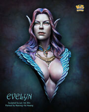 Nutsplanet Evelyn Elf Unpainted 1/12th scale bust kit