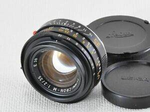 Leica SUMMICRON M 35mm F2 4th GENERATION [EXCELLENT] from Japan (18916)