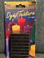 Yaley Concentrated Candle Dye Wine Blocks 3/4 Oz. #110077