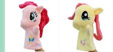 "Set of 2PCS My Little Pony Puppet Plush Toys 10""/26cm Biqi &soft"