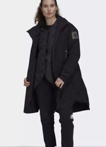 Adidas MYSHELTER 4IN1 Parka Waterproof Black Women's Size Medium GL1003