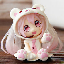 Collections Anime Figure Toy Hatsune Miku Polarbear Figurine Statues 10cm