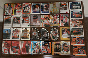 Tony Stewart - Lot of 100 diff cards - loaded with Inserts - Press Pass, Wheels+